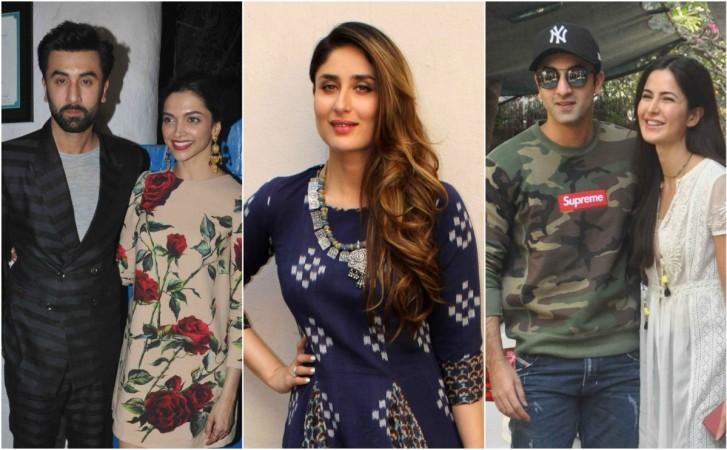 Ranbir Kapoor, Deepika Padukone, Kareena Kapoor Khan, Katrina Kaif