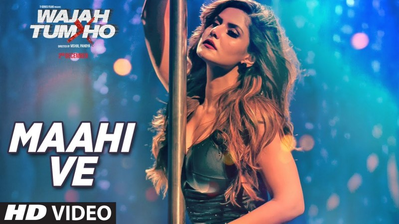 Zareen Khan in Maahi Ve song from Wajah Tum Ho
