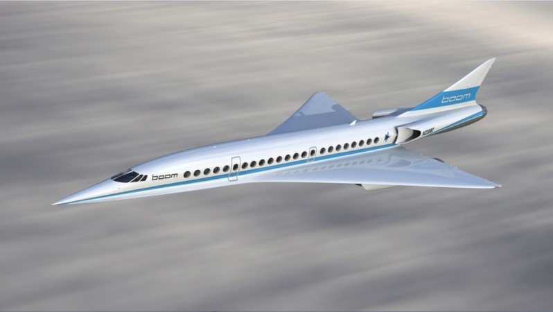 Boom's XB-1 Supersonic Demonstrator, nicknamed