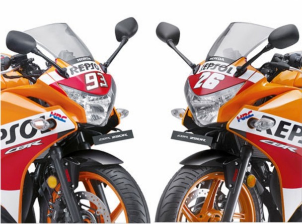 Honda CBR250R Repsol Racing Replica edition