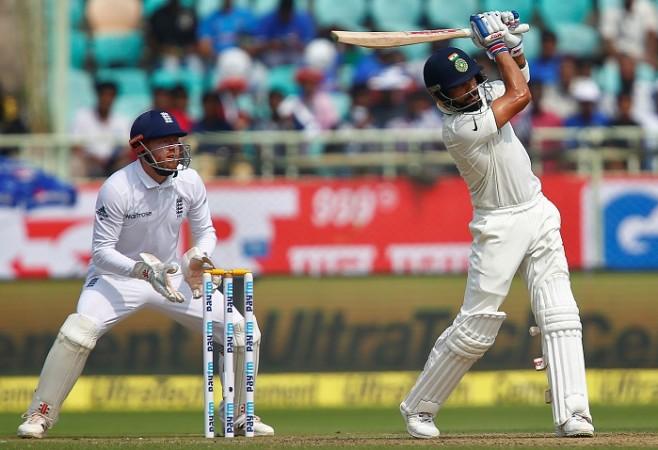 Virat Kohli India England Jonny Bairstow