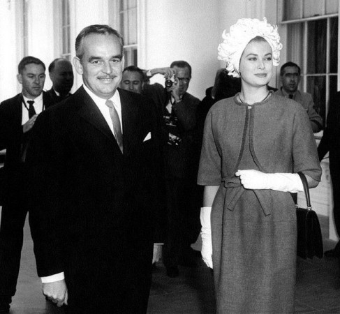 Princess Grace and Prince Rainier III