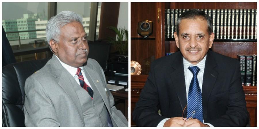 Ranjit Sinha and AP Singh