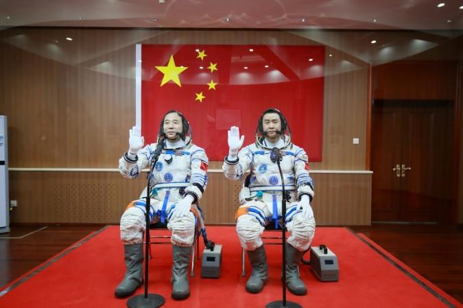 Shenzhou-11 astronauts