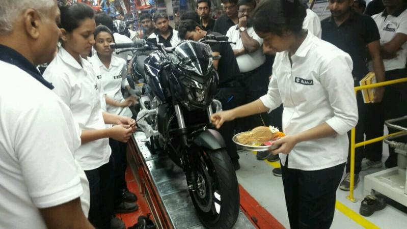 Bajaj 400cc motorcycle