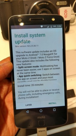 Select Motorola smartphones finally receiving Android Nougat OS update
