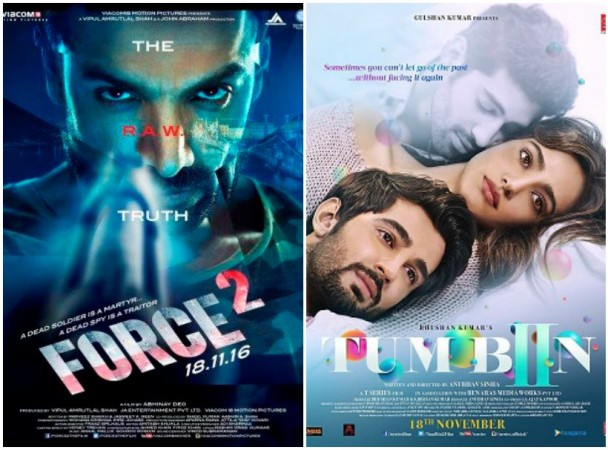 Check out Force 2 and Tum Bin 2 day 1 box office collection