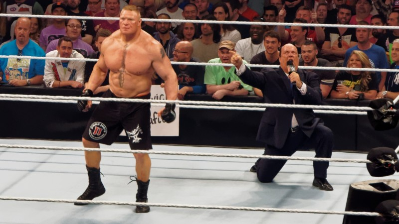 Brock Lesnar vs. Samoa Joe