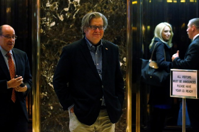 Steve Bannon gets permanent seat on Trump's National Security Council