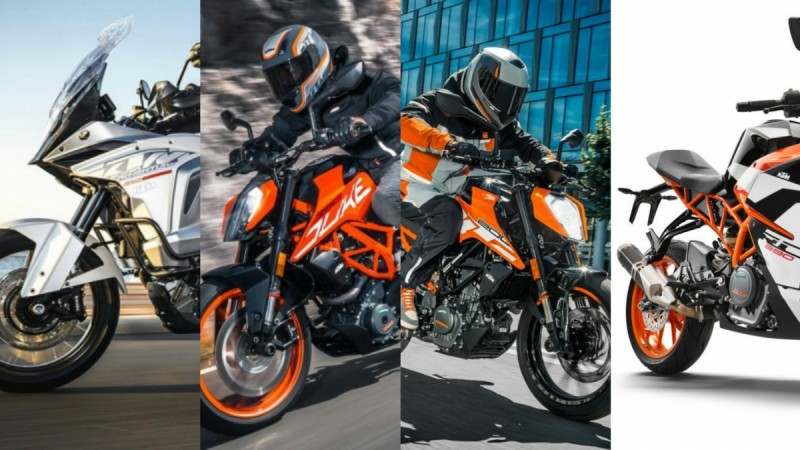Upcoming KTM models