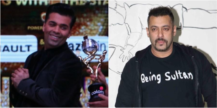 Karan Johar, Salman Khan