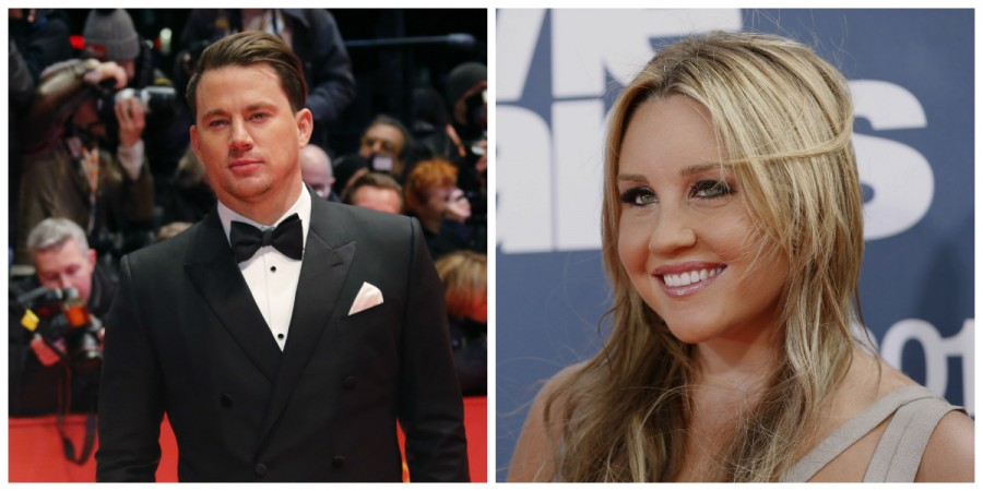 Channing Tatum and Amanda Bynes