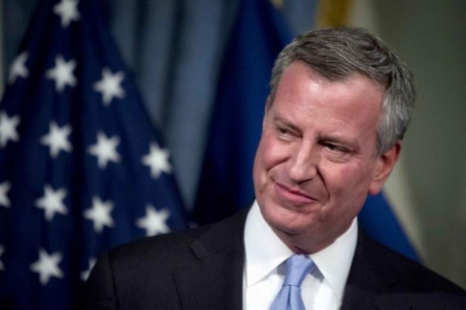 De Blasio promises to defy Trump policy proposals
