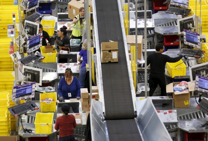 Thanksgiving and Black Friday weekend at the Amazon Fulfillment Center in Tracy, California