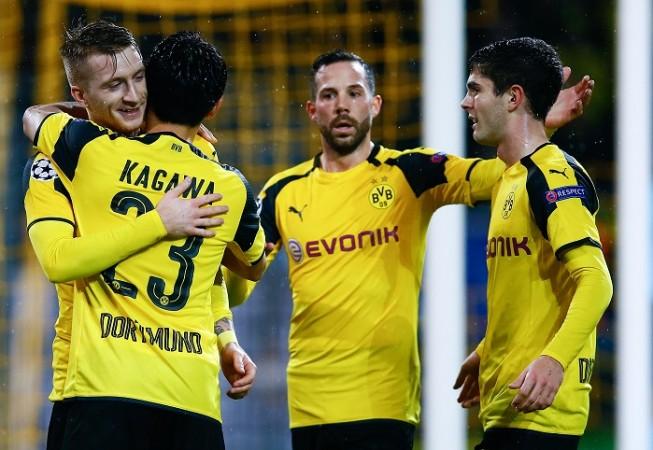 Marco Reus Borussia Dortmund Shinji Kagawa