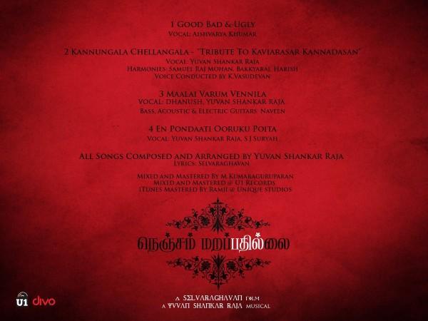 Nenjam Marappathillai Track List