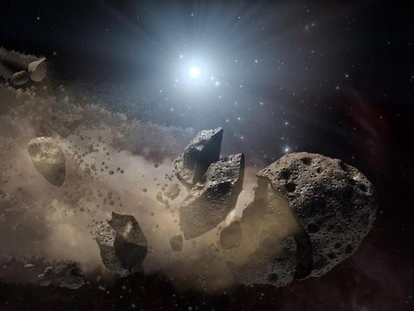 Dinosaur killing asteroid