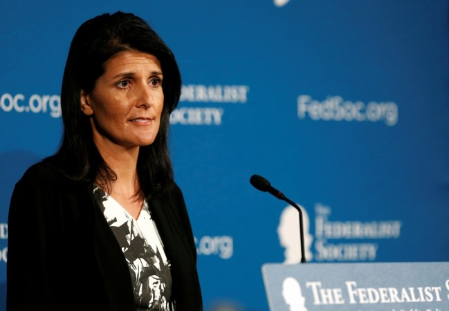 Trump to nominate Gov. Haley as United Nations Ambassador