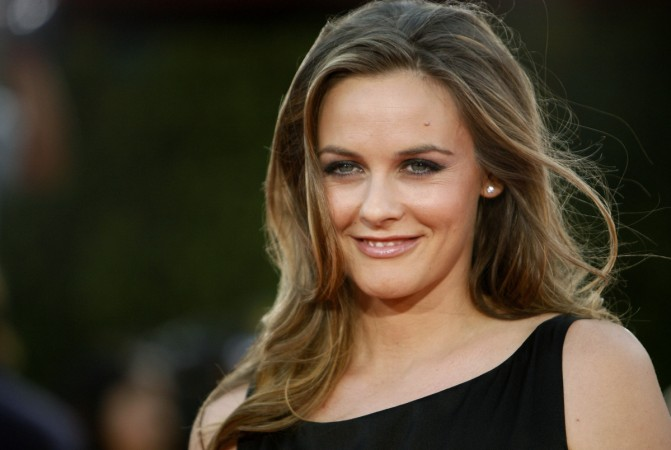 Alicia Silverstone has bared all to campaign against wearing wool