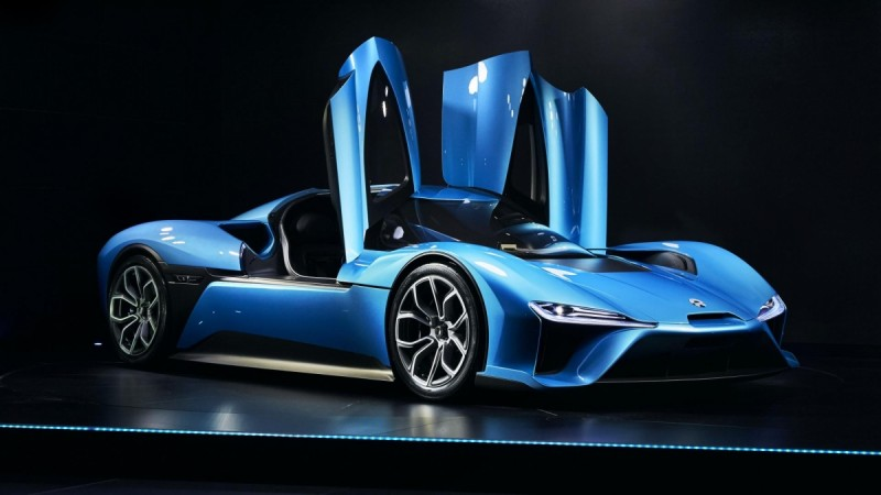 Meet the world's fastest electric car NIO EP9