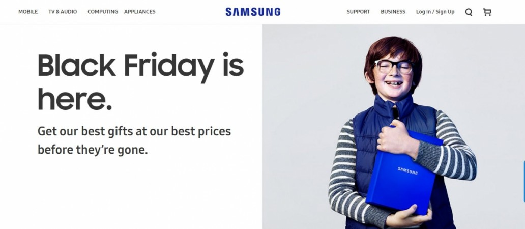 samsung black friday 2016 sale top deals on galaxy s7 s6 series and more ibtimes india. Black Bedroom Furniture Sets. Home Design Ideas