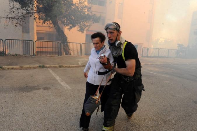 Haifa Fires