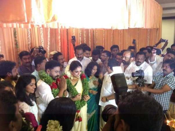 Dileep and Kavya Madhavan's wedding