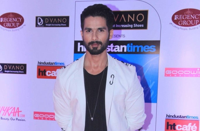 Shahid Kapoor begins shooting for Padmavati