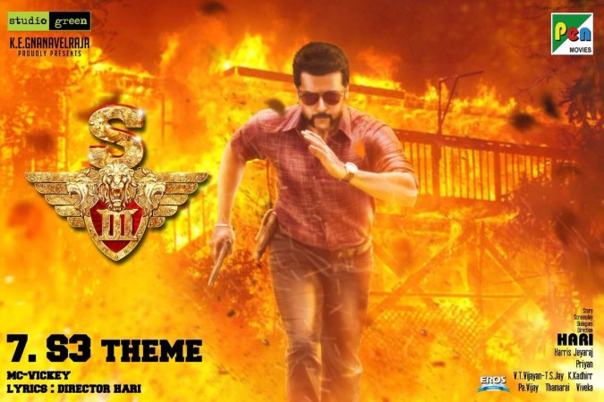 S3 aka Singam 3 music launch