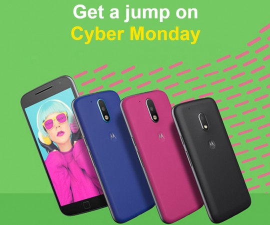 Moto Cyber Monday 2016 sale: Moto G4, G4 Plus and G4 Play get massive price cut