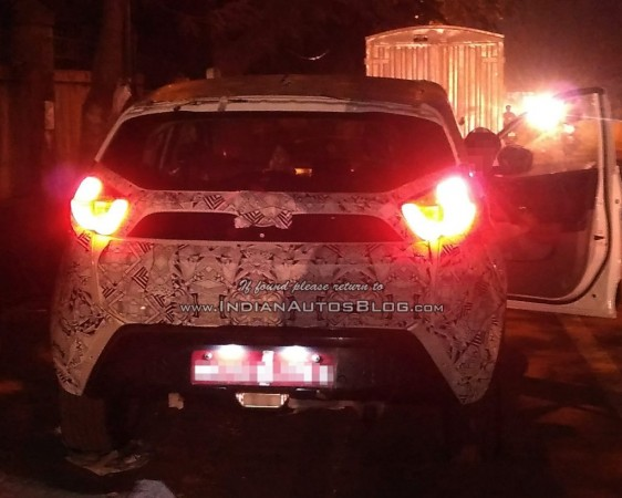 Tata Nexon returns in new spy shot