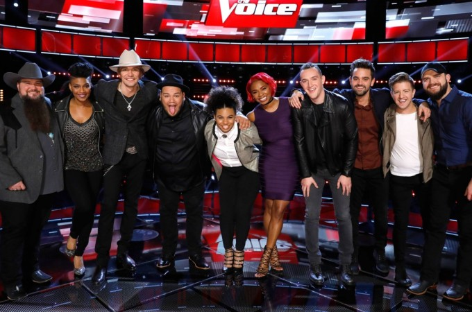 """The Voice"" Season 11 (USA) 2016 top 10 finalists"