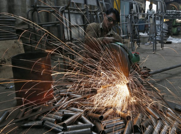 Manufacturing barely manages growth in Oct, says PMI report