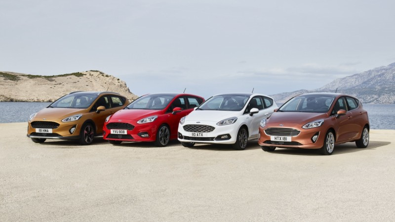 Ford shifts upmarket with new high-tech Fiesta