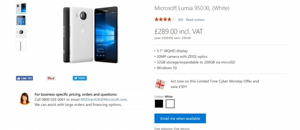 Microsoft Surface Phone release imminent: Lumia 950; Lumia 950 XL rumoured to be phased out soon