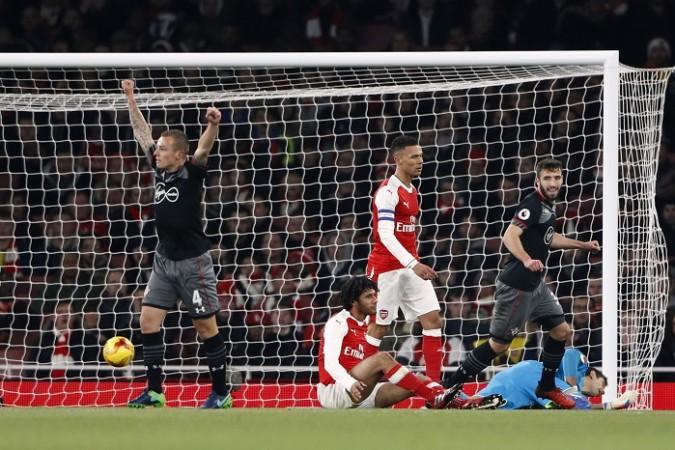 Jordy Clasie Southampton Elneny Gibbs Arsenal