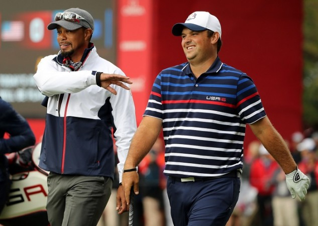 Tiger Woods Patrick Reed Ryder Cup 2016