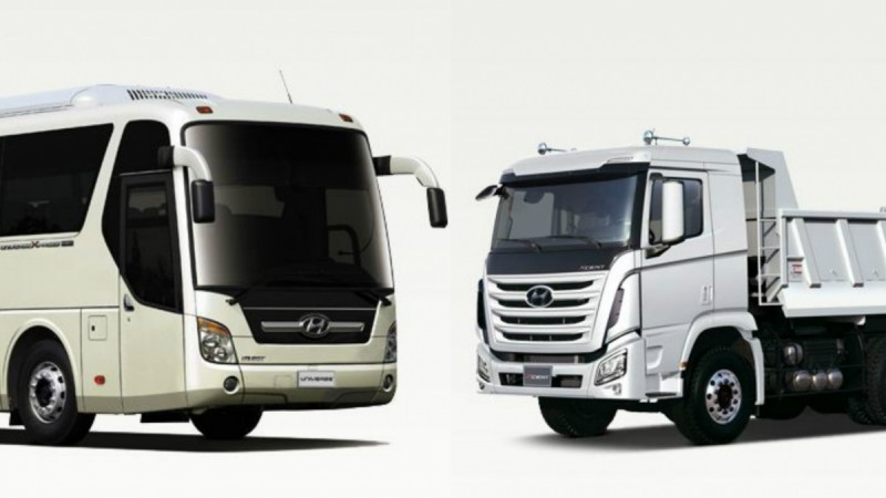 Hyundai commercial vehicles