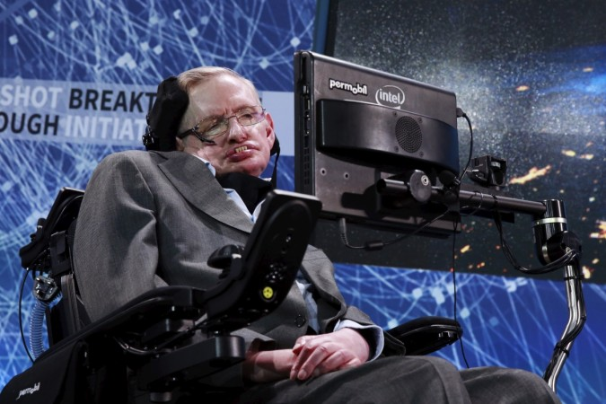Star who demystified the universe letter-by-letter — Hawking