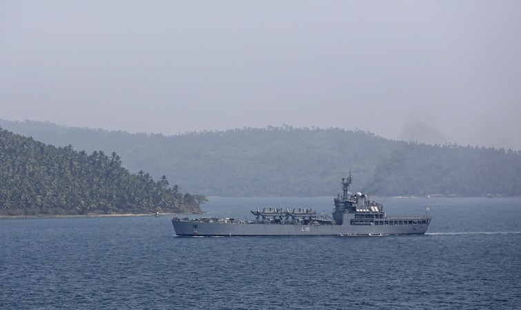 Indian Navy INS Kesari