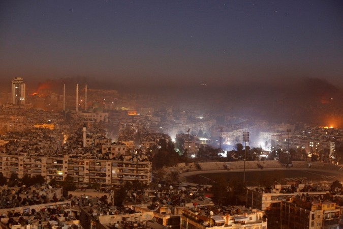 Israel Strikes Syrian Chemical Weapons Plant