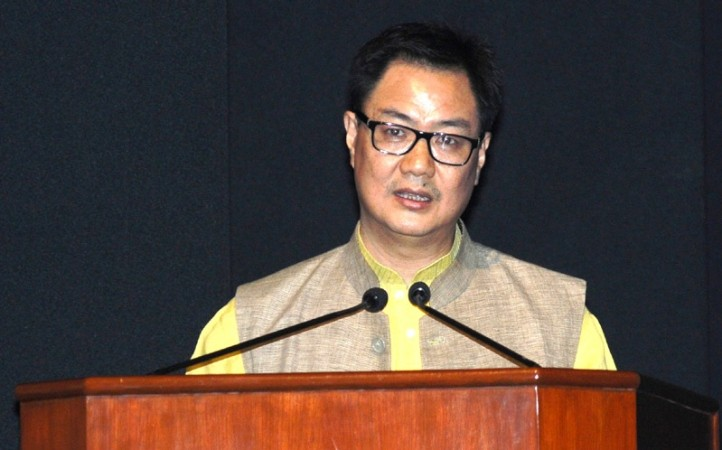 Rijiju escapes unhurt as chopper makes emergency landing in Itanagar