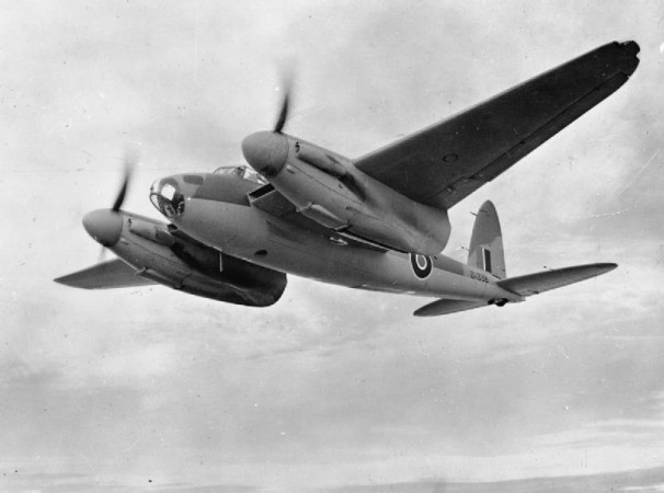 World War II fighter bomber de Havilland Mosquito