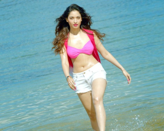 Shocking: Footwear hurled at Baahubali star Tamannaah Bhatia