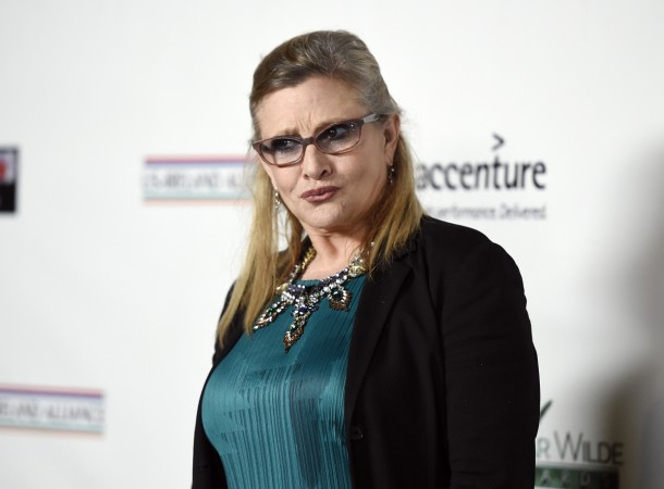 Star Wars actor Carrie Fisher had cocaine, heroin