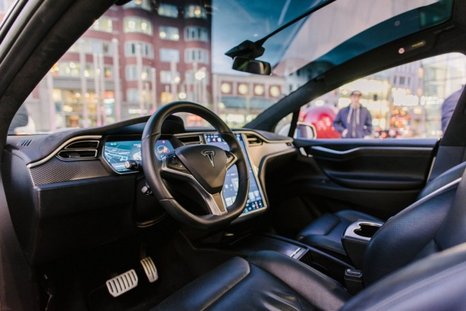 Tesla Predict A Car Crash