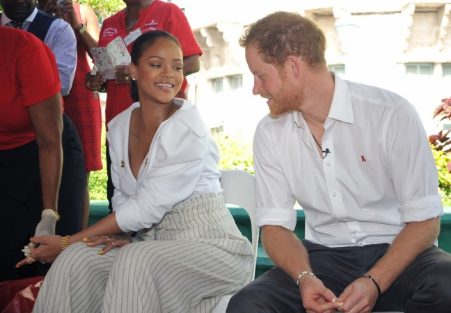 Rihanna pregnant with Prince Harry's baby