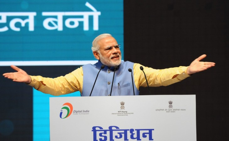 PM Narendra Modi's speech turns into 'sop' drama