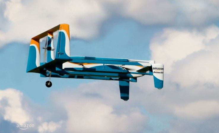 Amazon granted patent for flying DC
