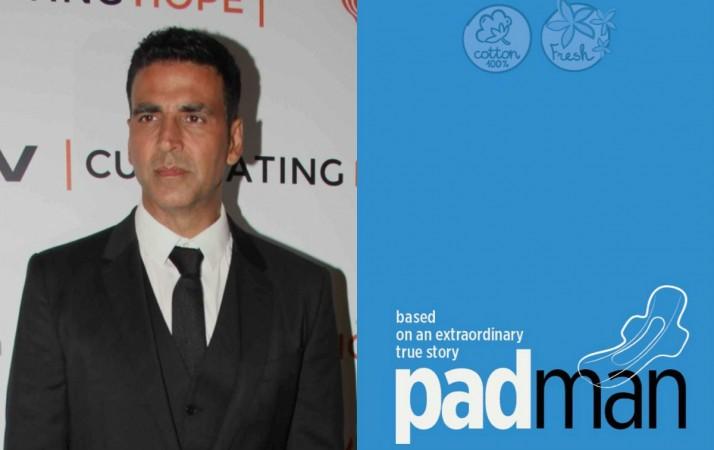 Image result for Akshay Kumar – Padman